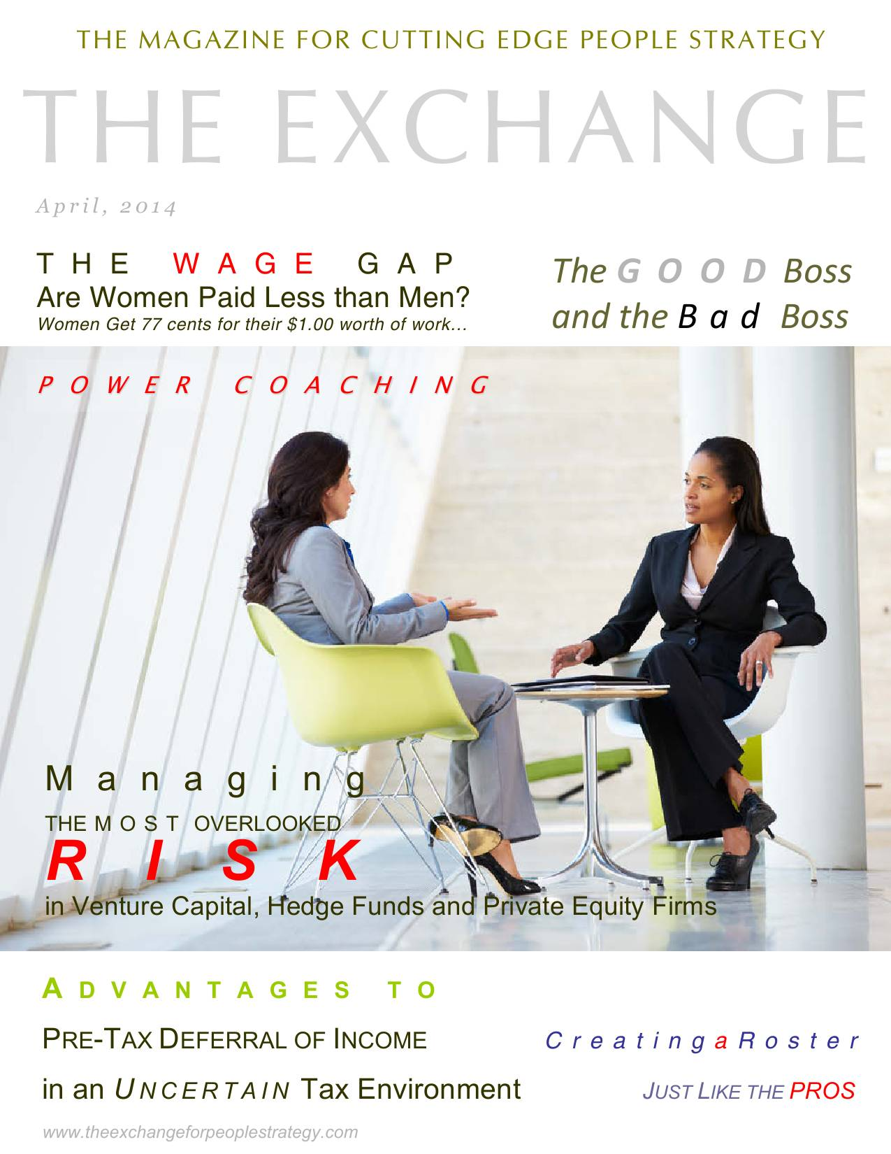 Exchange for People, Human Resources eMagazine