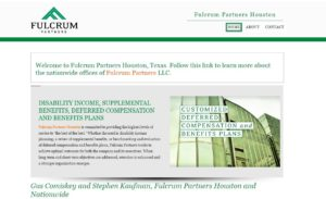 Fulcrum Partners Expands Executive Benefits Consulting with Microsites