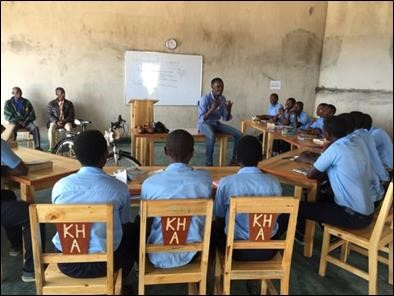 Kivu Hills Academy completes its first term with support from Fulcrum Partners Team