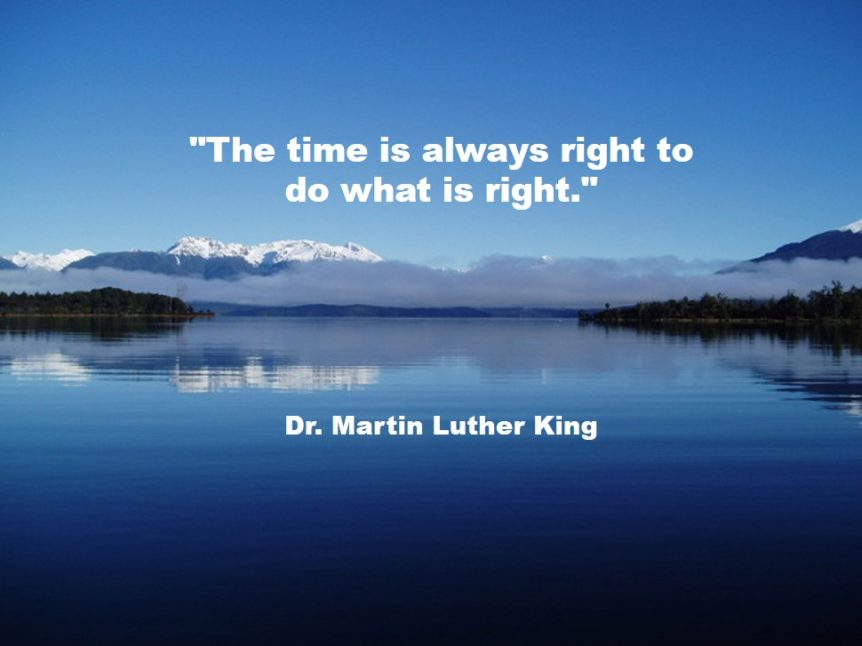 Fulcrum Partners ML King Quote