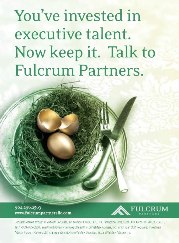 Fulcrum Partners. Executive Benefits Strategies for Golden Nest Eggs.