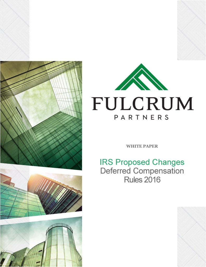 FULCRUM WHITE PAPER 409A and 457