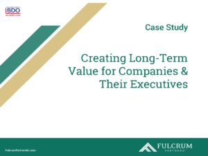 Creating Long Term Value for Companies and their Employees, a Case Study