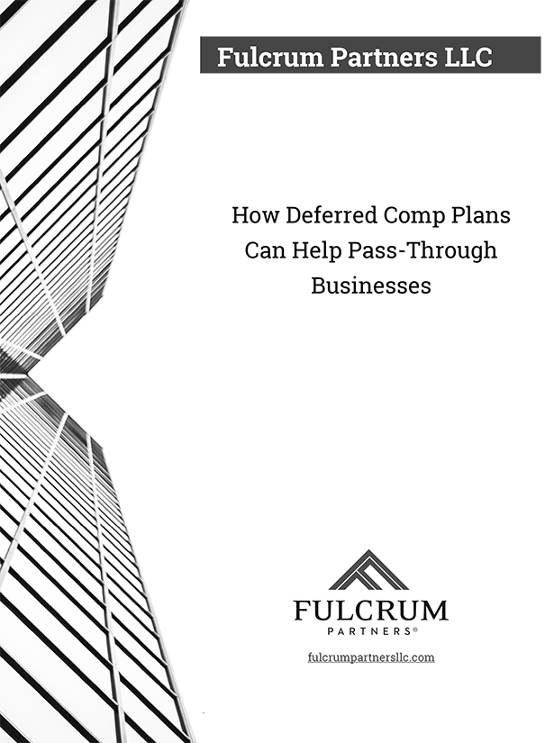Download Deferred Comp Plans Can Help Pass-Through Businesses