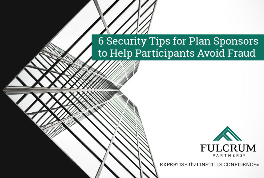 Security Tips for Plan Sponsors
