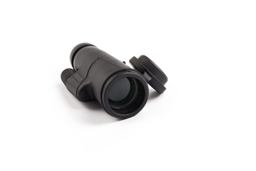 modern monocular telescope isolated