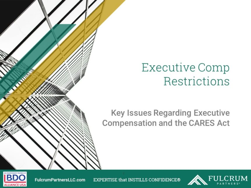 Executive Comp Restrictions Cover