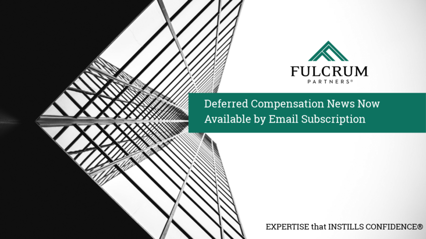 Deferred Compensation News Available by Email Subscription